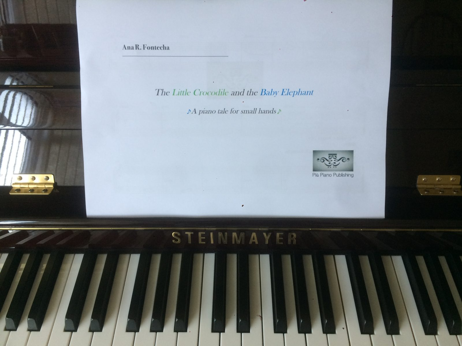 Piano method. Più Piano Publishing