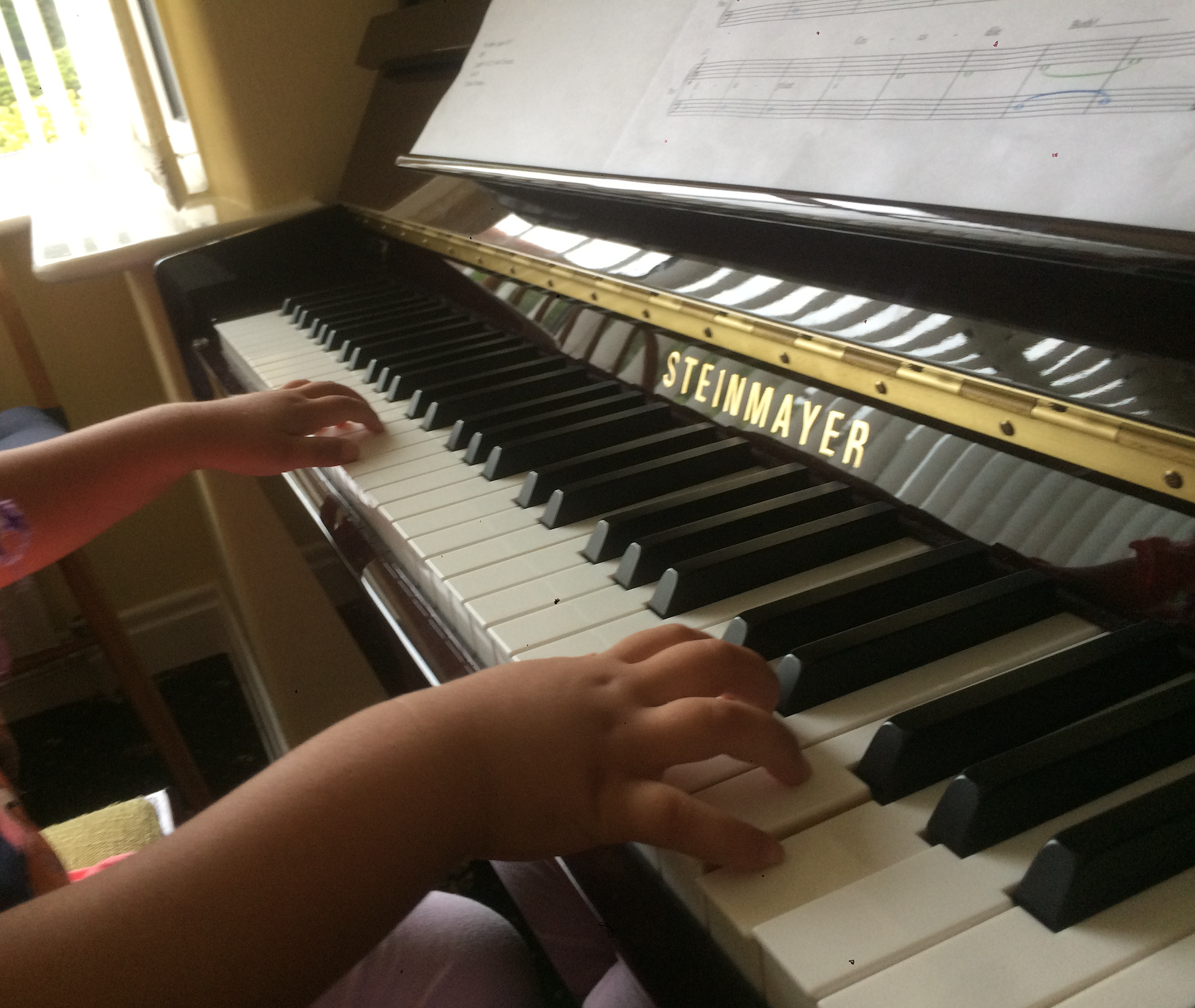 Più Piano Music Academy. High and Low Piano Method. Preschoolers